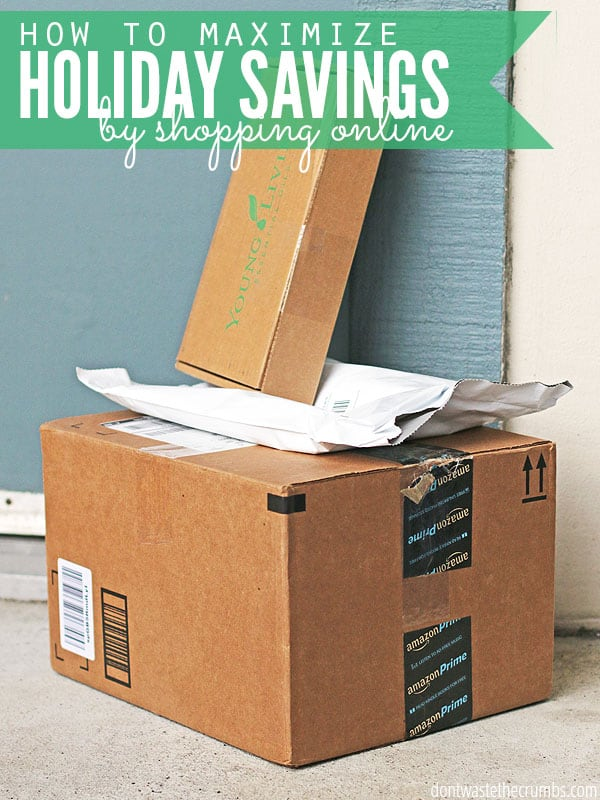 If you shop online at all, you need this!! It's a step by step guide explaining how to save money when you shop online. It's perfect for Christmas!! I've done this for years and regularly save up to 75% off regular prices, and then get checks back in the mail! :: DontWastetheCrumbs.com