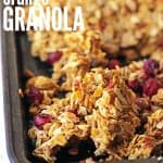Cranberry Orange Granola Cover