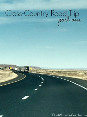Cross-Country Road Trip (part 1)