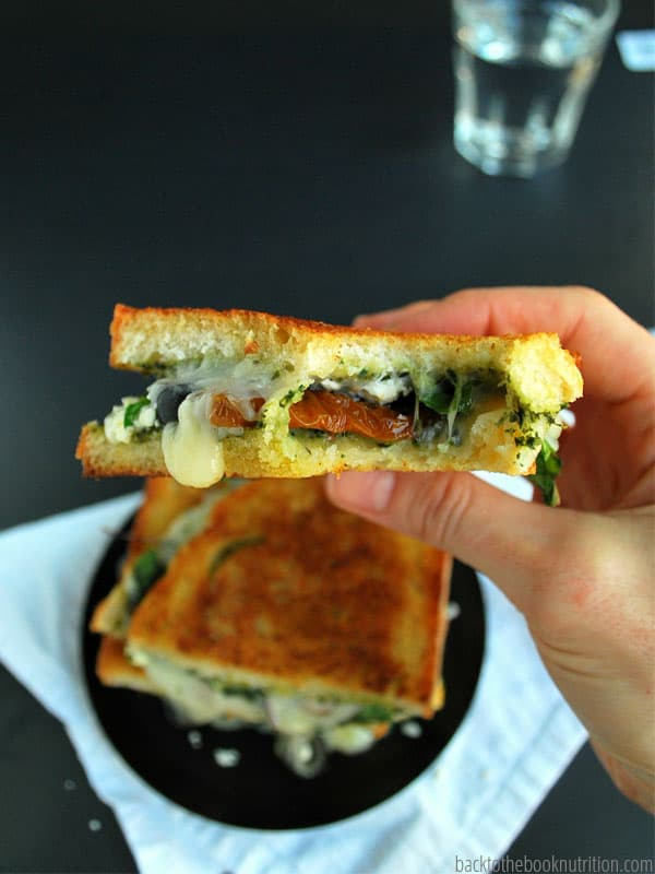 Greek Grilled Cheese 3