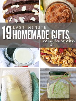 19 Easy Homemade Gifts to Make at the Last Minute