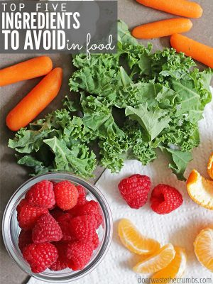 Top 5 Ingredients to Avoid in Food