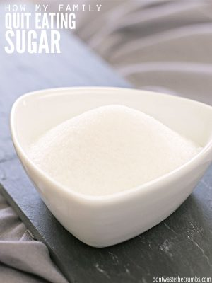 3 Steps for Quitting Sugar