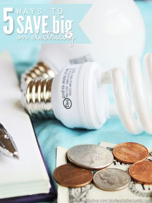 5 Ways to Save Money on Electricity Without Spending Any Money