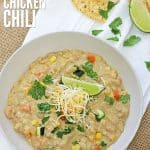 White Chicken Chili Cover