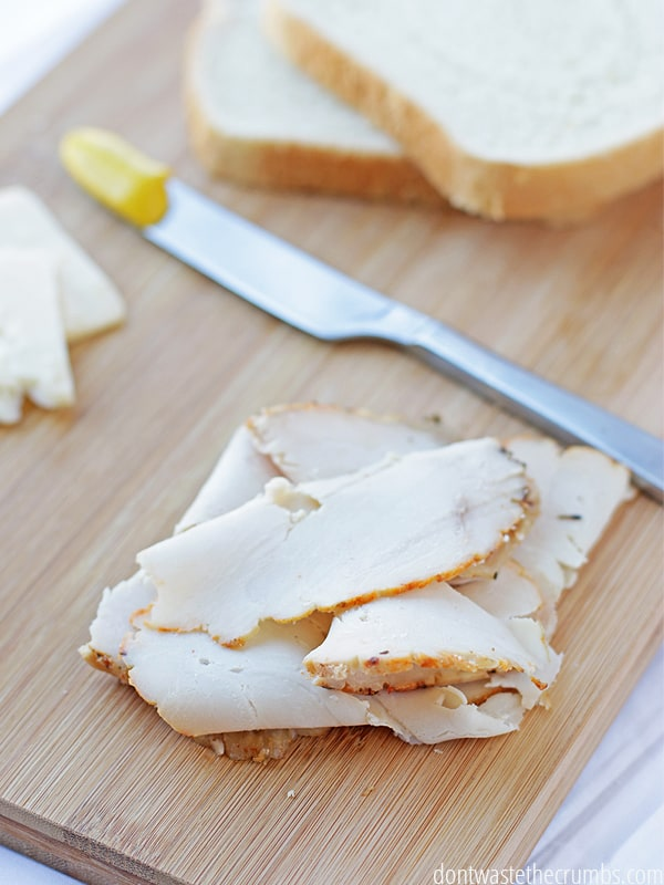 Homemade lunch meat is a little trickier than just thin sliced turkey breast. I learned the secret to perfectly sliced turkey for sandwiches. Follow this DIY to find out!