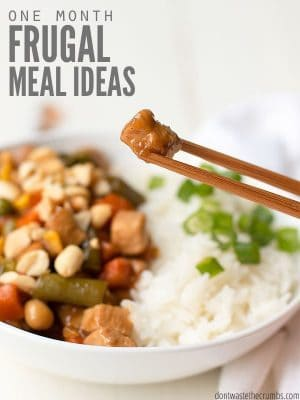 Frugal Meal Ideas for March