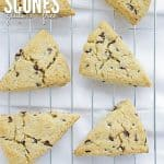 Mini Chocolate Chip Scones Gluten Free Cover