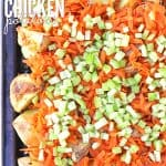 Oven Roasted Buffalo Chicken Potatoes Cover