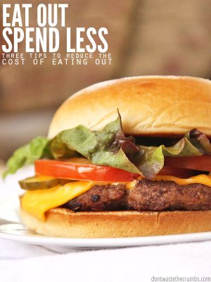 Eat Out Spend Less - Cover