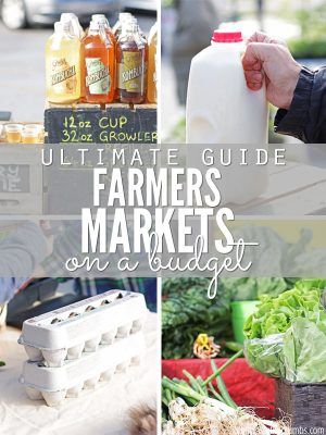 Ultimate Guide to Shopping with a Farmers Market Budget