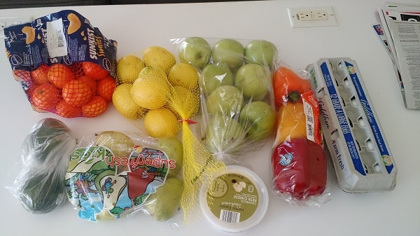 Every month I share what we spent on food, as proof that you don't have to spend a lot of money to eat healthy. This is our grocery budget spending report for April 2016, and I shopped at Costco, ALDI and the farmer's market. See the specific items I bought, how much I paid and how I used them in this grocery budget spending report! :: DontWastetheCrumbs.com