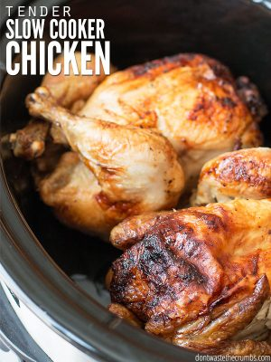 All-purpose Slow Cooker Chicken