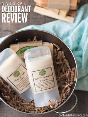 Bend Soap Company Natural Deodorant Review
