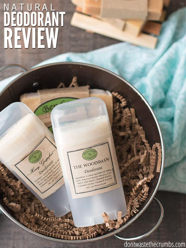 After several months of testing in the humidity and heat of Georgia, this natural deodorant review shows which brand works. And it turns out to be more affordable than other brands too! :: DontWastetheCrumbs.com