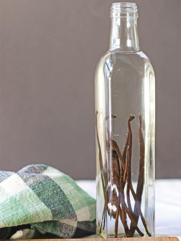 "When I read that ""pure"" vanilla extract can be diluted, I started making my own. With just 2 ingredients and a few weeks, I have truly pure homemade vanilla extract that tastes delicious! :: DontWastetheCrumbs"