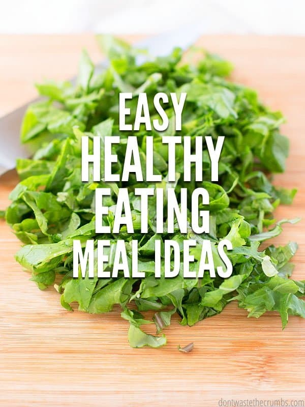 This is my favorite meal plan - it has a whole month worth of healthy eating meal ideas that my family loves. Plus they're cheap! Starting with this plan each month has done wonders for my grocery budget. :: DontWastetheCrumbs.com