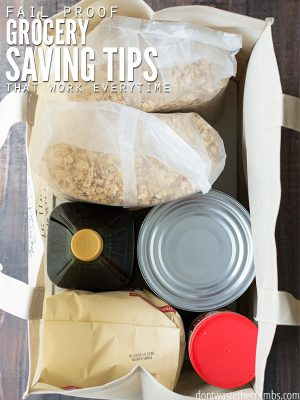 Fail-proof Grocery Saving Tips That Work Every Time