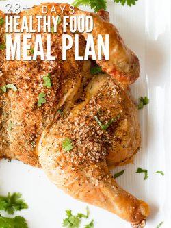 Healthy Food Meal Plan