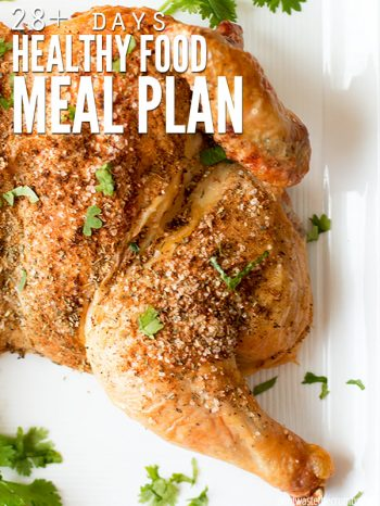 Healthy Food Meal Plan