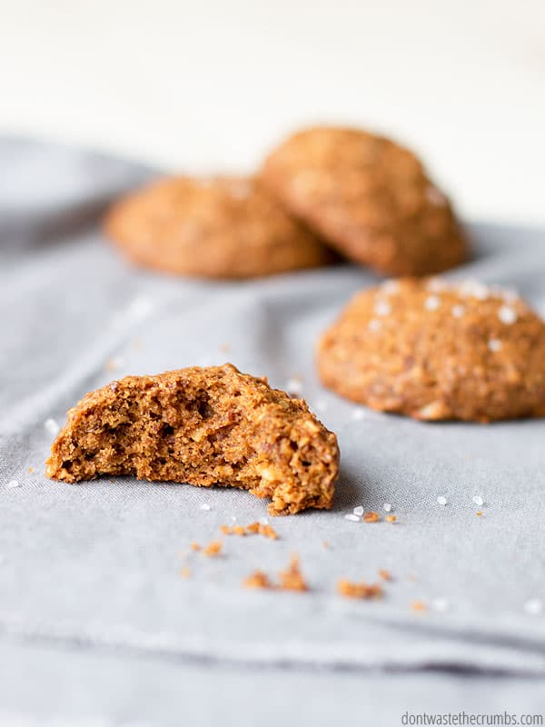 It feels good giving my kids molasses breakfast cookies. No processed sugar, high in minerals and whole grains - their bellies are full of good food all morning long. :: DontWastetheCrumbs.com