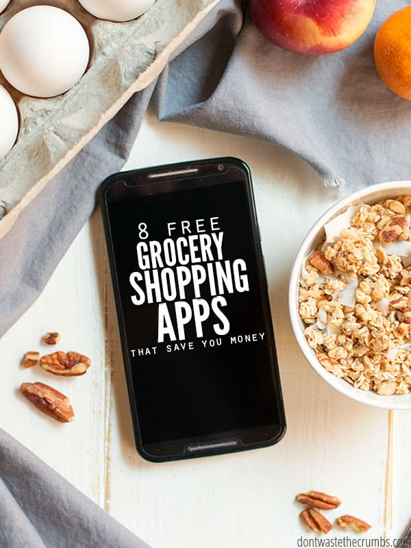 The best free grocery shopping app and rebate app to save money on real food, plus tips on how to maximize your savings without spending a lot of effort. :: DontWastetheCrumbs.com