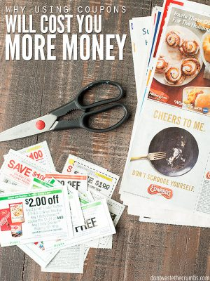 Why I Quit Coupons (and saved more money)