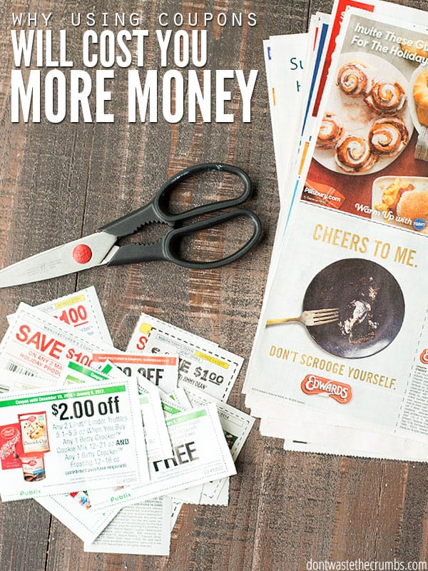 I quit coupons and now save even more with a rock solid system to get the best deal can on real food. It's super easy to follow and works week after week! :: DontWastetheCrumbs.com