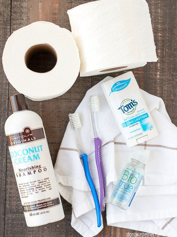 Wondering how to incorporate toiletries into your budget? Follow this step-by-step tutorial to find out how!