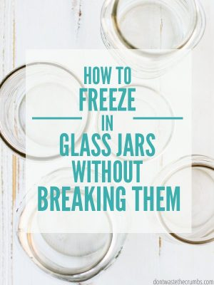 How to Prevent Glass from Breaking in the Freezer