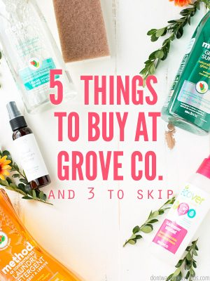 5 Things to Buy at Grove Collaborative (and What to Skip)