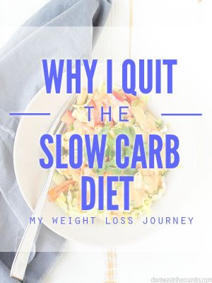 My Struggle to Lose Weight and the Slow Carb Diet