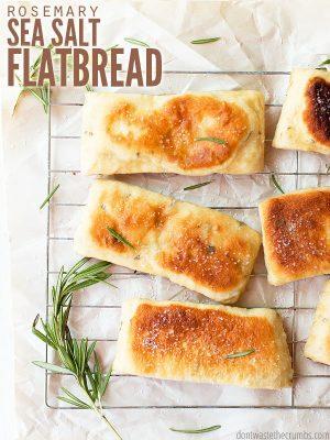 Rosemary Sea Salt Flatbread