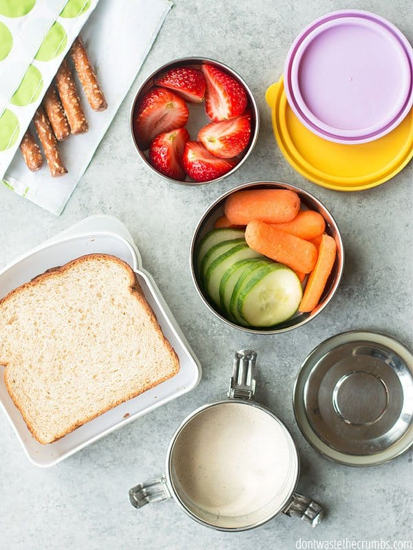Packing lunch can be tedious day in and day out. Thankfully with the best school lunch box, I can make lunch in a flash! And have it ready every single day.