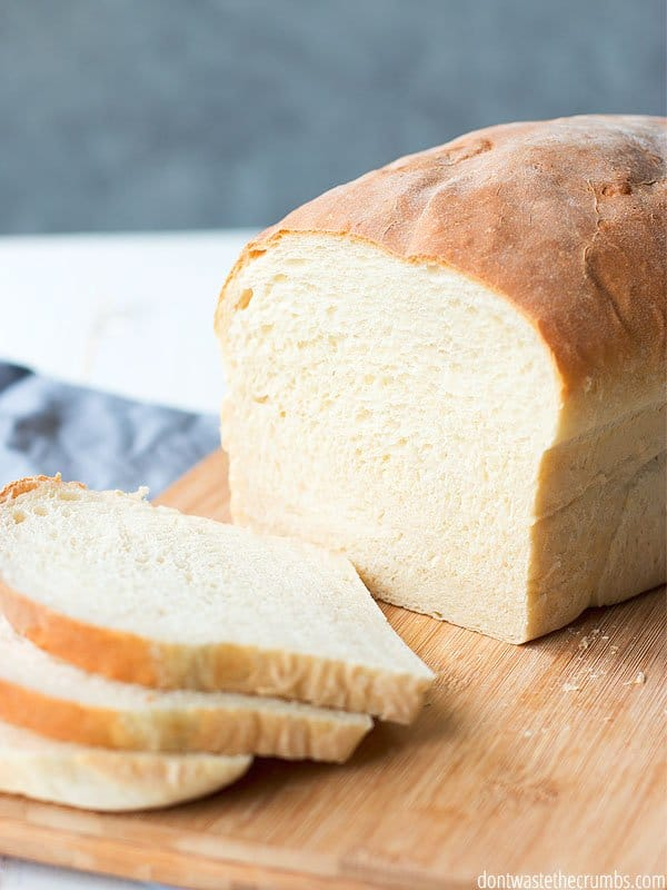 Light, fluffy, stick to your mouth delicious? This white sandwich bread recipe is perfect! Great for the families that want homemade bread but are struggling with the whole wheat thing. Trust me, its ok to make this bread and like it!