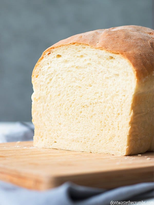 Homemade white sandwich bread? You mean its ok to make white bread at home?? YES!