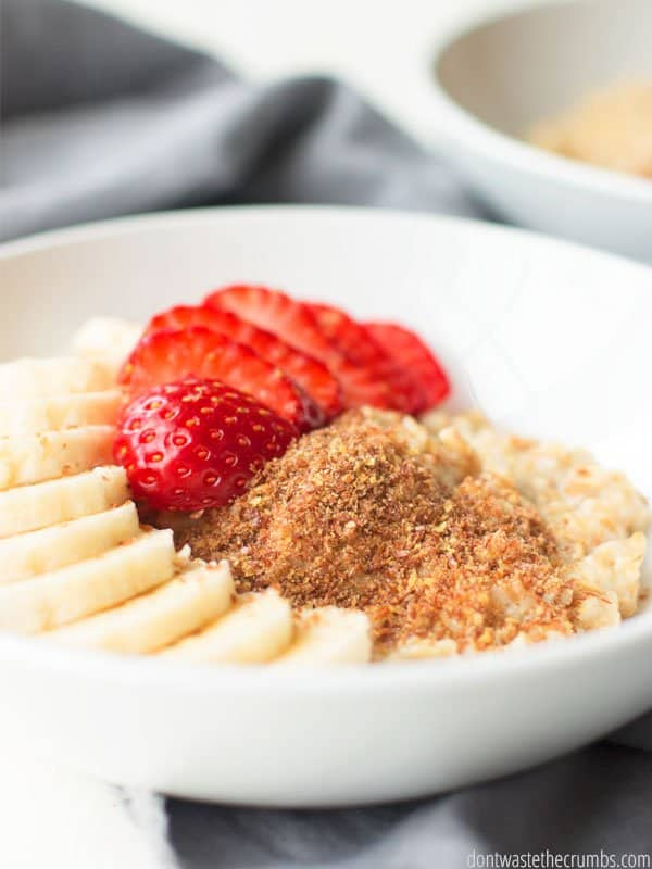 Are you training for a marathon or play a lot of sports? This high protein oatmeal recipes will knock your socks off! Delicious and full of nutrients that will keep your body running strong.