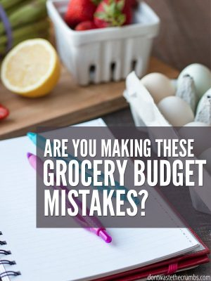 5 Reasons You're NOT Saving Money on Food