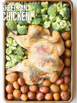 Lemon and Herb Sheet Pan Chicken