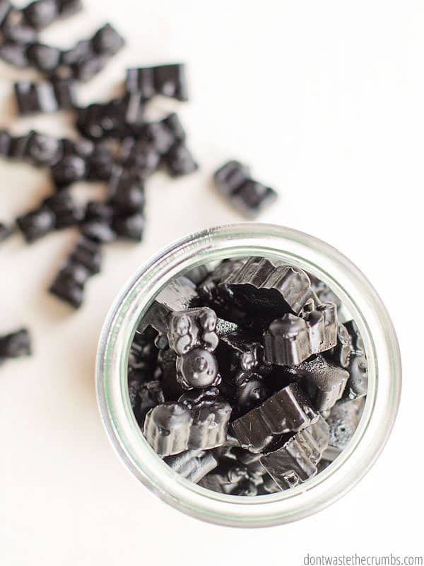 Looking for a natural remedy for the stomach flu? These activated charcoal gummies helped stop our last bug from spreading.