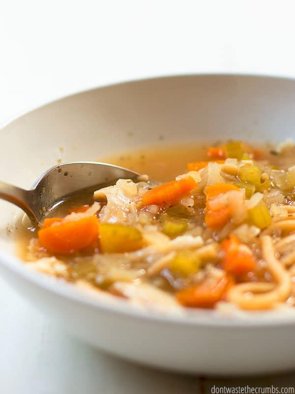 Homemade chicken noodle soup is a staple comfort food in the winter. This instant pot chicken noodle soup is just like your grandma used to make. Simply delicious!
