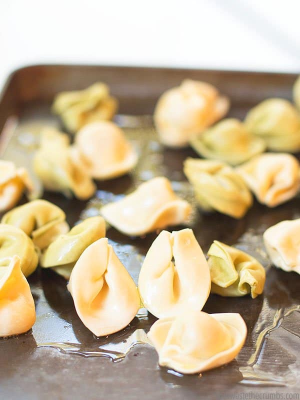 For a twist on the traditional pasta night, try making fried tortellini! It's easy and delicious, perfect for a weeknight dinner.