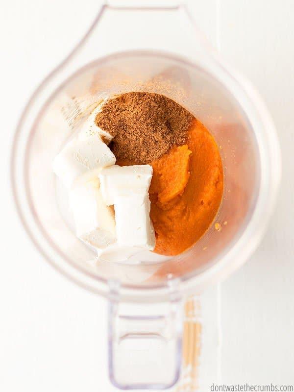 Pumpkin Swirl Black Bean Brownie Recipe - Don't Waste the ...