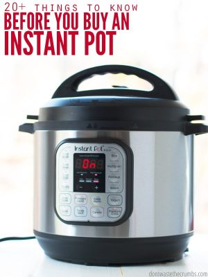 20+ Things to Know Before You Buy an Instant Pot