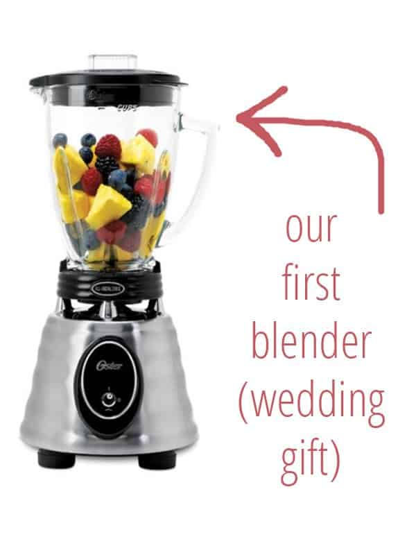 There's a wide variety of blenders out there. I LOVE my Blendtec high-powered blender but you can use whatever you have!