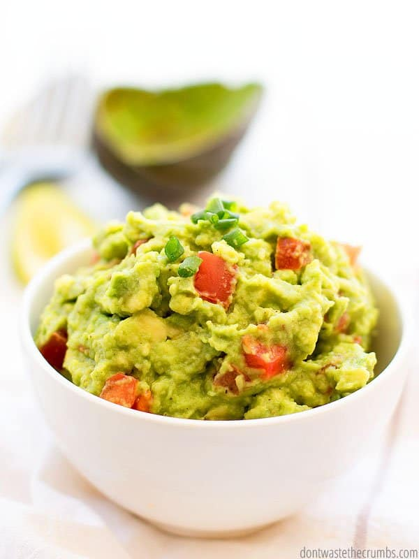 You can make this authentic guac recipe with salsa, or serve salsa on the side for taco night. This recipe is a great foundation for guacamole.