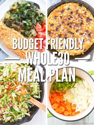 Budget-friendly Whole30 Meal Plan