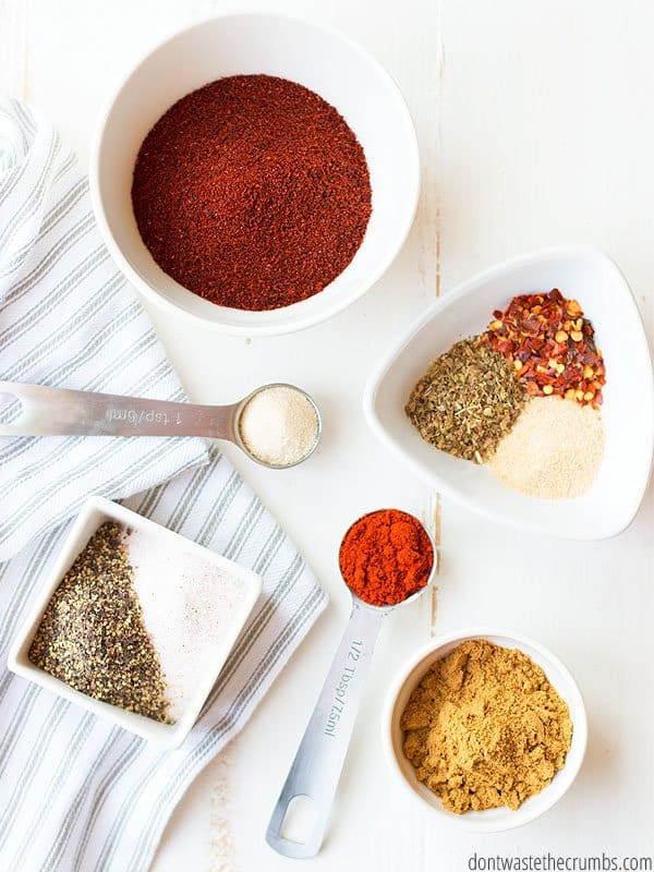 This homemade taco seasoning recipe is the bomb! So easy to make, super delicious, and WAY better than any store-bought brand.