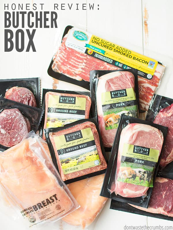 Honest Review of Butcher Box - Don't Waste the Crumbs