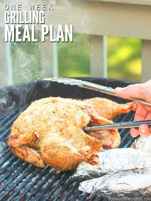 One Week Grilling Meal Plan